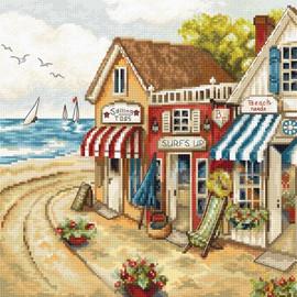 Shop by the Sea Cross Stitch Kit by Artibalt