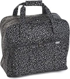 Leopard Matt PVC Sewing Machine Bag by Hobby Gift