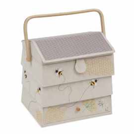Hive with Drawer Bee Sewing Box Extra Large