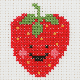 Counted Cross Stitch Kit: 1st Kit: Strawberry By Anchor