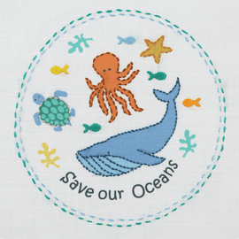 Save Our Seas Embroidery Kit 1st Kit By Anchor