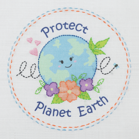 Love Earth Embroidery Kit 1st Kit By Anchor