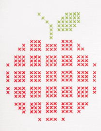 Apple Big & Easy Embroidery Kit by Anchor