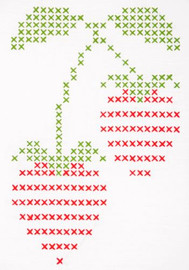 Strawberry Big & Easy Embroidery Kit by Anchor