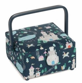Save Yourself Square PVC Handle Sewing Box by Hobby Gift