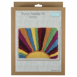 Sunrays Punch Needle Kit by Anchor