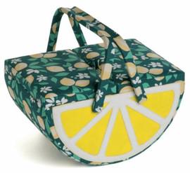 Pink Lemonade Lemon Sewing Box by Hobby Gift