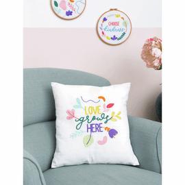 Embroidery Kit: Cushion: Essentials: Ana Clara: Love Grows by Anchor