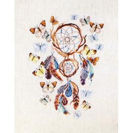 Keep Your Dreams Safe Cross Stitch Kit by Artibalt