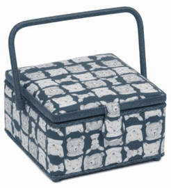 Folkstone Square Sewing Box by Hobby Gift