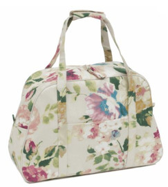 Vintage Floral Sewing Machine Bag by Hobby Gift