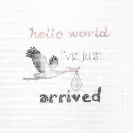 A Gift for a Newborn Cross Stitch Kit by Aribalt