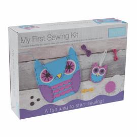 My First Sewing Kit: Owl Handbag & Charm By Trimits