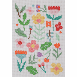 Maggie Magoo Floral Scatter Cross Stitch Kit by Anchor