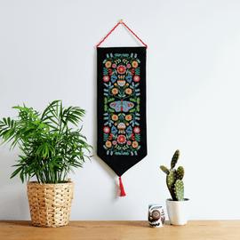 Maggie Magoo Folk Floral Cross Stitch Kit by Anchor