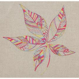 Embroidery Kit Essentials Stitch Sampler 2 Leaf