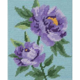 Purple Peonies Starter Tapestry Kit by Anchor