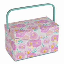Sewing Box Fold Over Lid: Floral Dream By Hobby gift