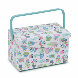 Sewing Box Fold Over Lid: Cactus Party by Hobby Gift