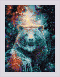 The Great Bear Counted Cross Stitch Kit by Riolis