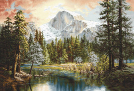 Nature's Wonderland Counted Cross Stitch Kit By Luca-S