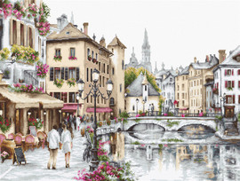 Lake Annecy Counted Cross Stitch Kit By Luca-S