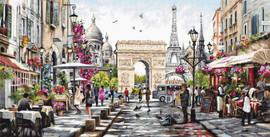 Paris Counted Cross Stitch Kit By Luca-S