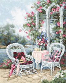 Victorian Memories Counted Cross Stitch Kit By Luca-S