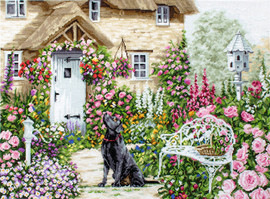 The Cottage Garden Counted Cross Stitch Kit By Luca-S