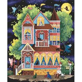 Fairy Tale House Cross Stitch Kit by Artibalt