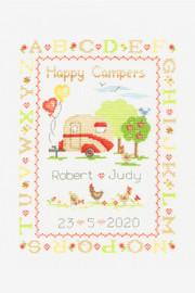 Happy Camper Cross Stitch Kit by DMC