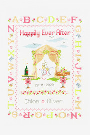 Happily Ever After Cross Stitch Kit by DMC
