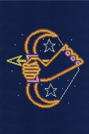 Sagittarius Star Sign Cross stitch Kit by DMC