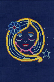 Virgo Star Sign Cross stitch Kit by DMC