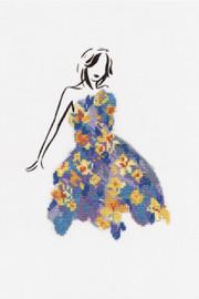 Stitch Dance Daffodil Cross Stitch Kit by DMC