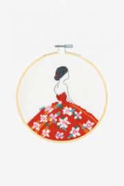 Carmen Cross stitch Kit by DMC