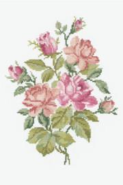 Light Roses Cross Stitch Kit by DMC