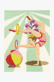 Acrobat Cross Stitch Kit by DMC
