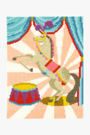 Circus Horse Cross Stitch Kit by DMC