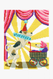 Clowning Around Cross Stitch Kit by DMC