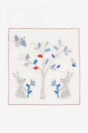 A Countryside Date Cross Stitch Kit by DMC