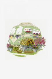 The Flowers Cross Stitch Kit by DMC