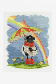 April Showers Cross Stitch Kit by DMC
