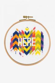 Here Cross Stitch Kit by DMC