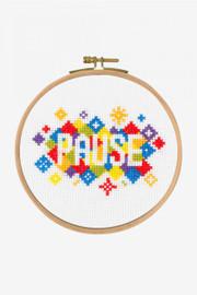 Pause Cross Stitch Kit by DMC