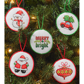 Christmas Mini Ornaments By Bucilla