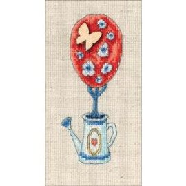 Butterfly Tree Of Happiness Cross Stitch Kit By Notions