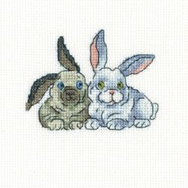 Brer Rabbits Counted Cross Stitch Kit By RTO