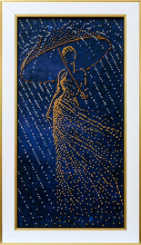 Melody of Rain Beaded Embroidery Kit By VDV