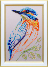 Kingfisher Beaded Embroidery Kit By VDV